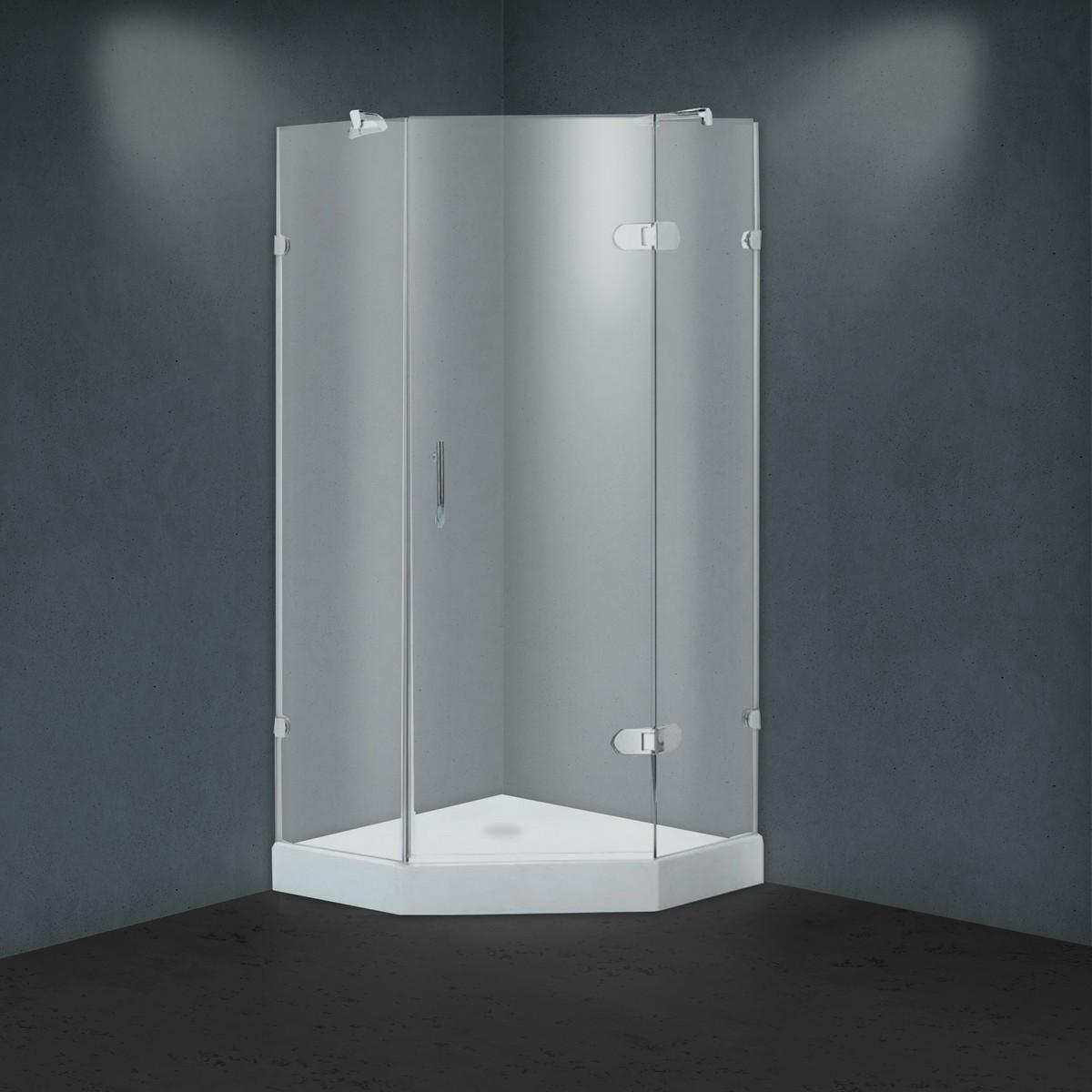 Душевой уголок BY-839 Fabric Glass - 100*100