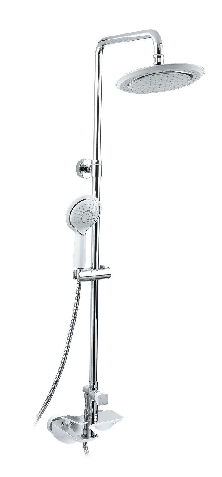 Душевая система Timo Helmi SX-1070/00-16-412 хром-белый