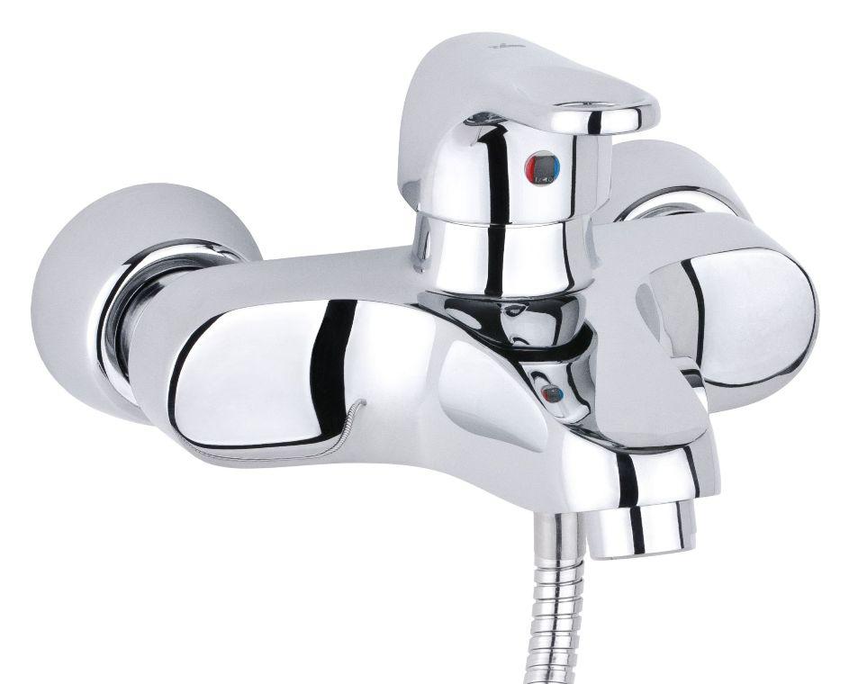 Смеситель для ванны с душем Timo Nordic 0154Y chrome