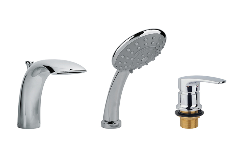 Смеситель для ванны с душем, врезной Timo Beverly 3030/00Y хром