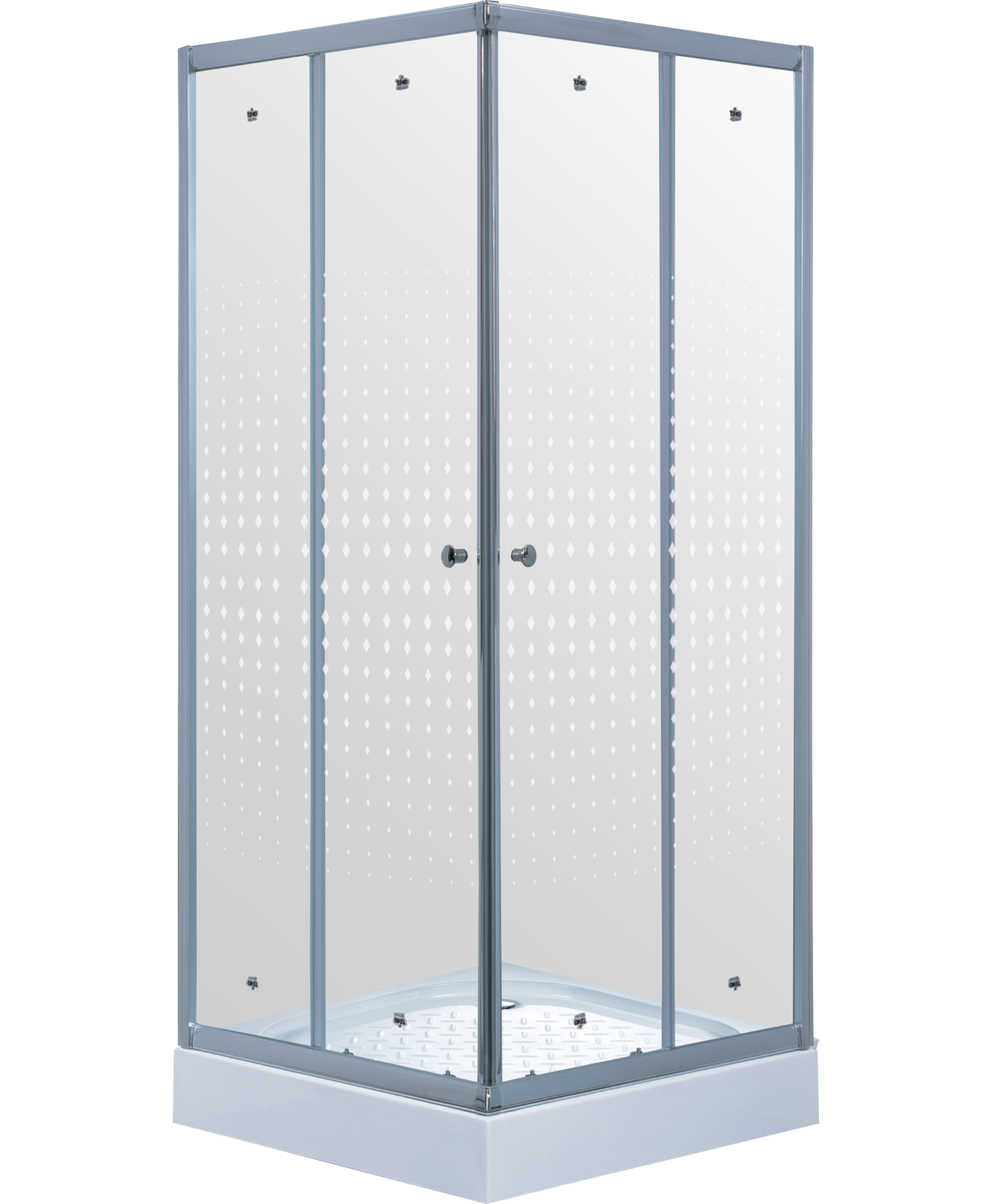 Душевой уголок TL-1102 Romb Glass