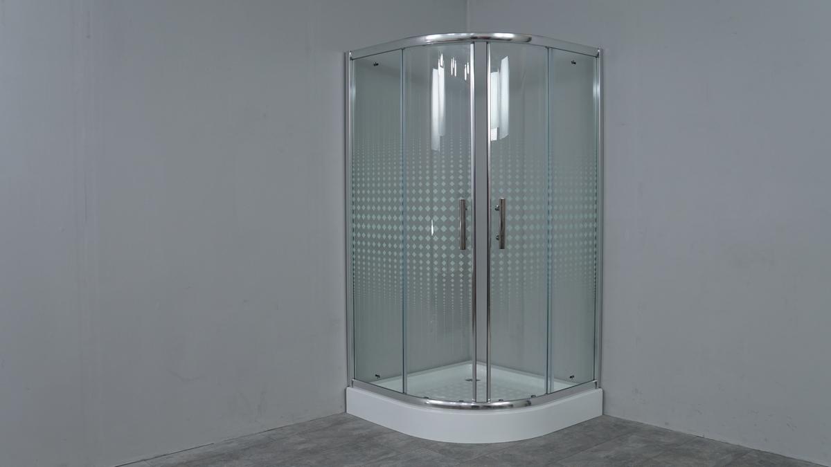 Душевой уголок TL-9001 Romb Glass