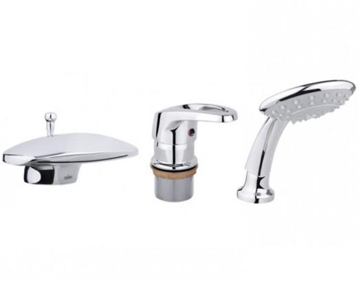 Смеситель для ванны с душем, врезной Timo Tugela 3020FK chrome