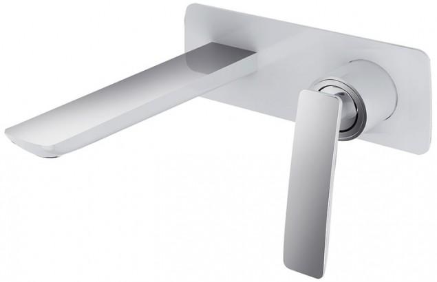 Смеситель для раковины встроенный Timo Helmi 4071/00-16SM хром-белый